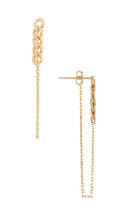 Lennox Chain Earring Natalie B Jewelry $48 BEST SELLER