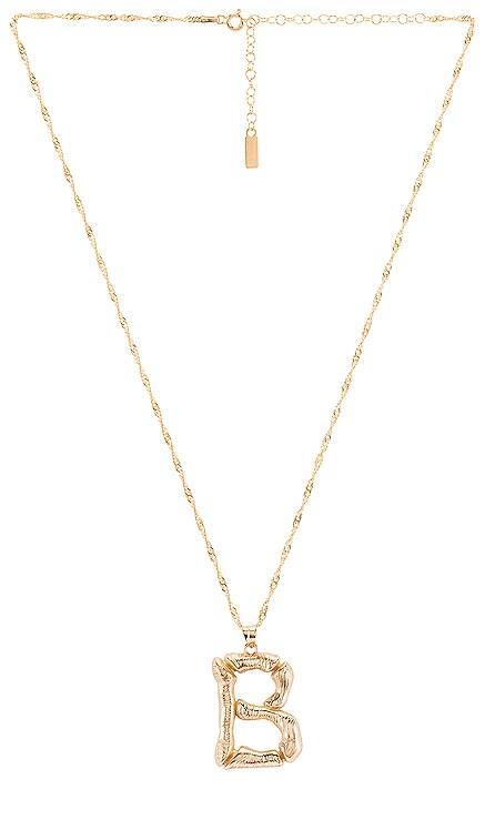 Initial B Necklace Natalie B Jewelry $43