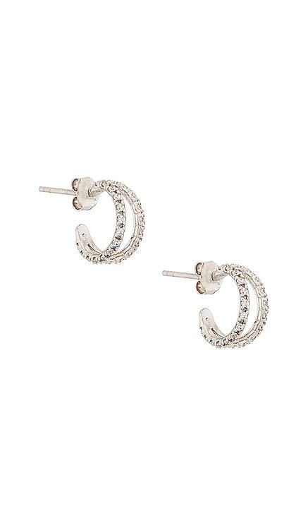Nysa Hoops Earring Natalie B Jewelry $57 NEW