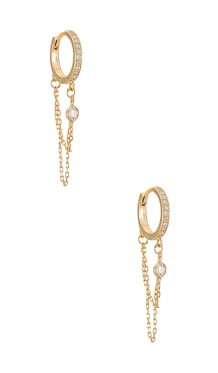 Reese Huggy Hoop Earring Natalie B Jewelry $70 BEST SELLER