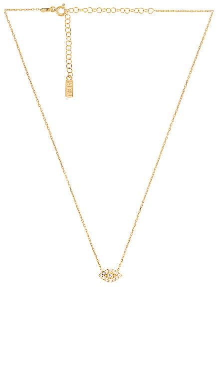 Pave Evil Eye Choker Necklace Natalie B Jewelry $66 BEST SELLER