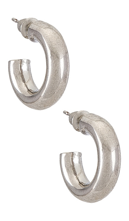 Rumi Hoop Earring Natalie B Jewelry $48 NEW