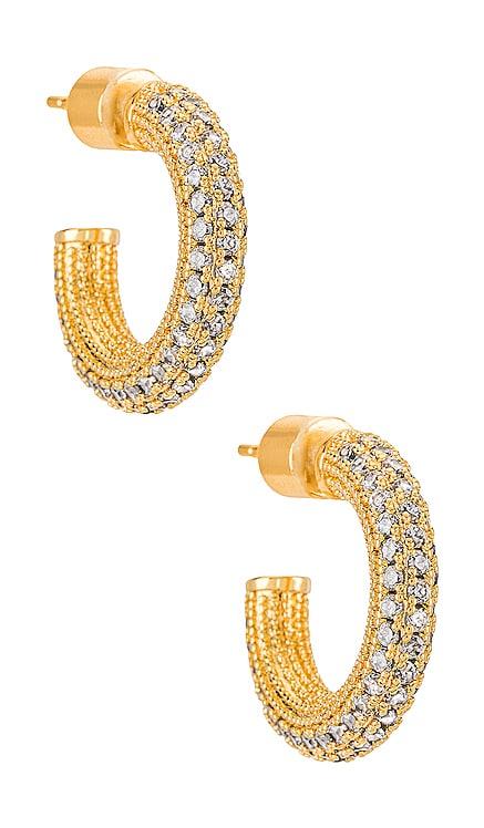 Crystal Rumi Hoop Natalie B Jewelry $84