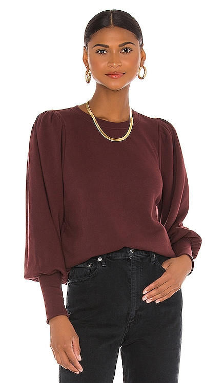 Bethany Puff Sleeve Sweatshirt Nation LTD $154