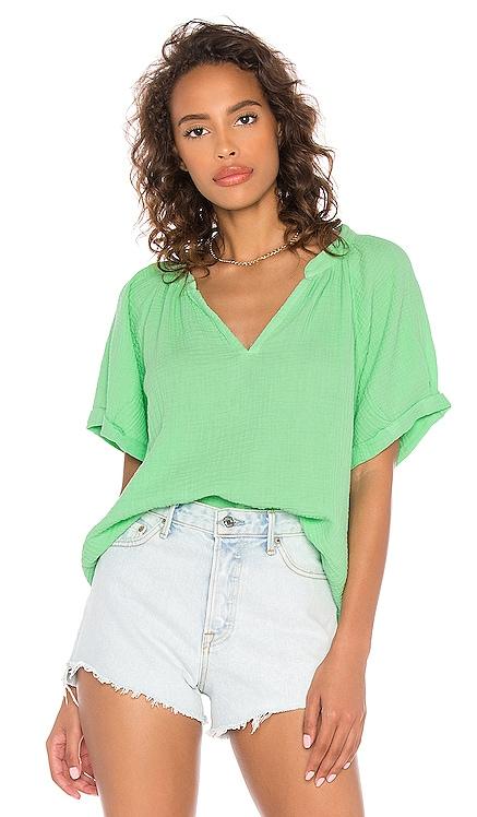 Odette Rolled Peasant Shirt Nation LTD $145 NEW