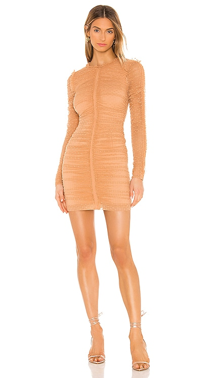 Las Olas Long Sleeve Mini Dress NBD $142