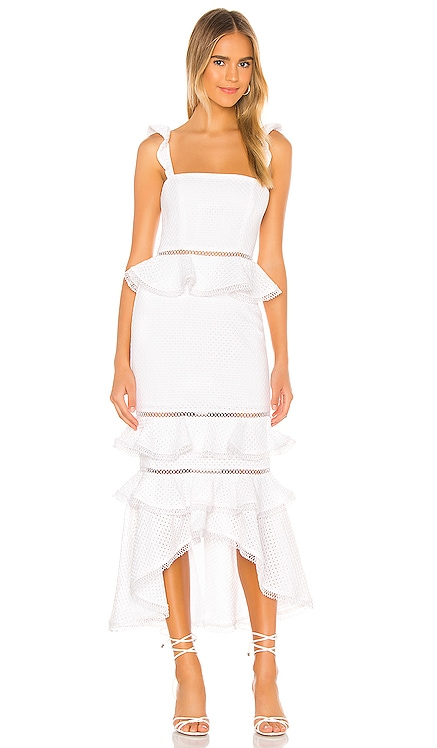 Haze Midi Dress NBD $298 NEW