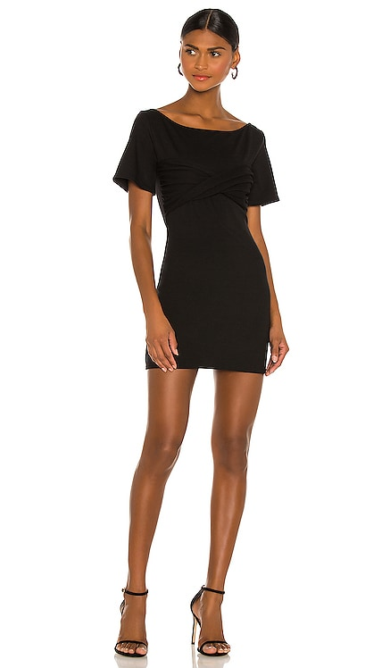 Twisted Short Sleeve Mini Dress NBD $158 NEW