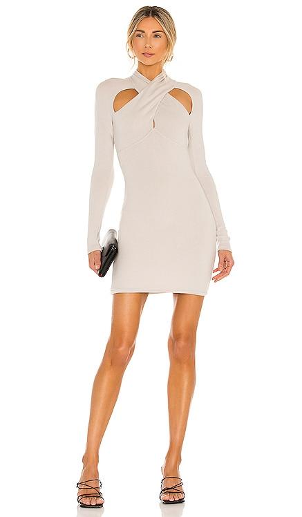Crossover Mini Dress NBD $178