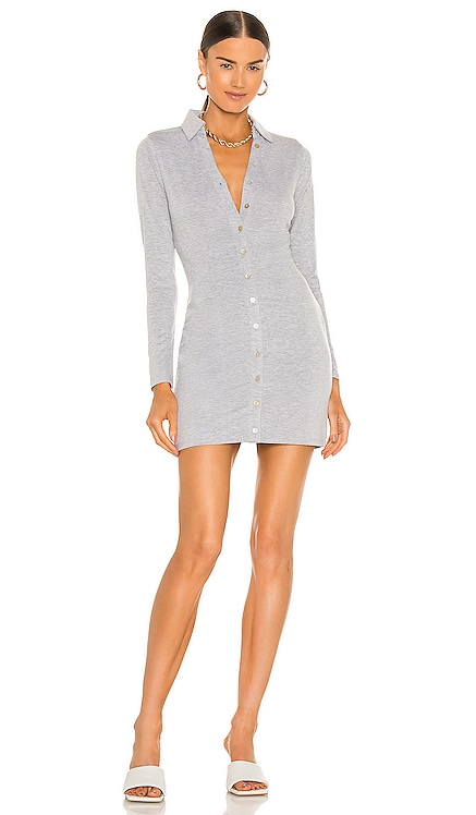 Farris Button Up Mini Dress NBD $168