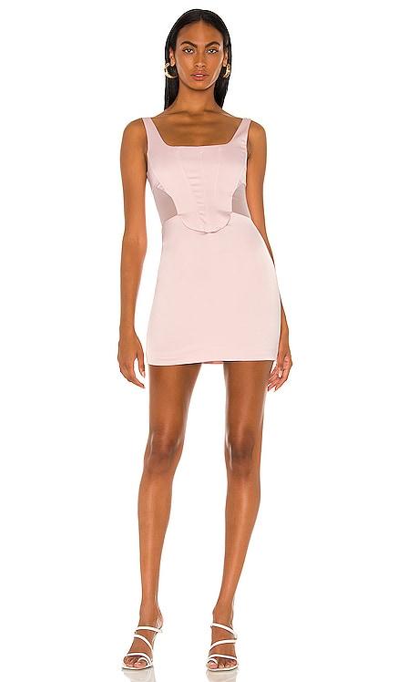 Rose Quartz Bustier Dress NBD $178 NEW