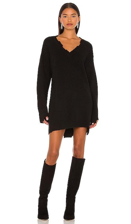 Evie Distressed Knit Mini Dress NBD $198 NEW