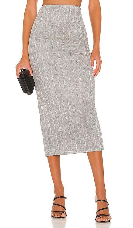 Lida Midi Skirt NBD $158 NEW