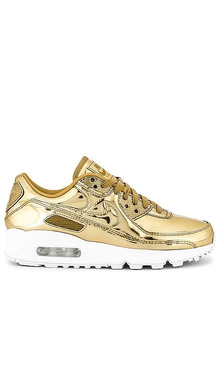 Air Max 90 Liquid Metal Sneaker Nike $180 NEW ARRIVAL