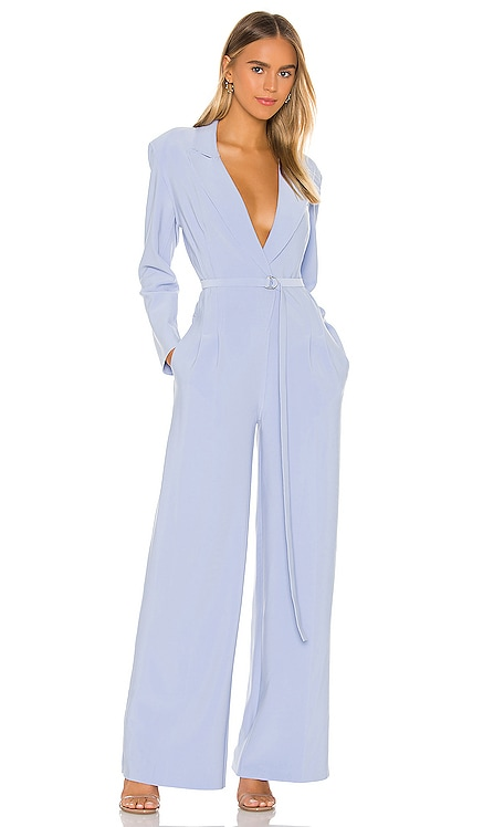 X REVOLVE Single Breasted Straight Leg Jumpsuit Norma Kamali $385