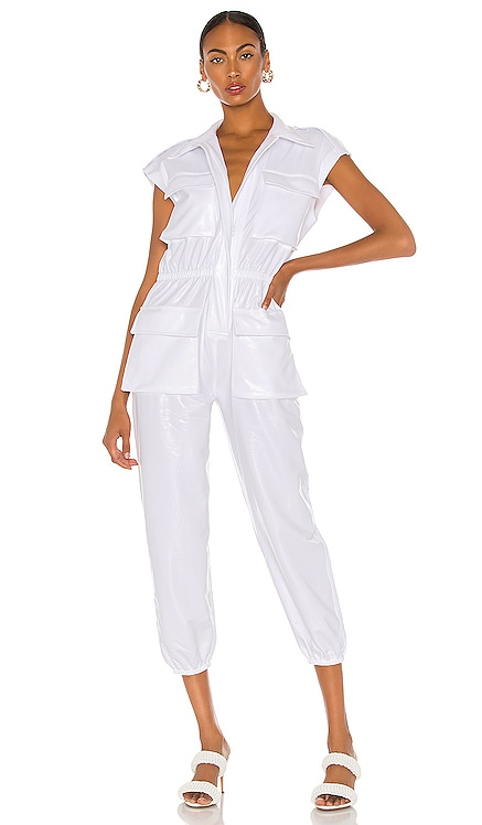 Sleeveless Cargo Jumpsuit Norma Kamali $285 NEW