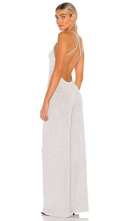 X REVOLVE Low Back Slip Jumpsuit Norma Kamali $165 NEW