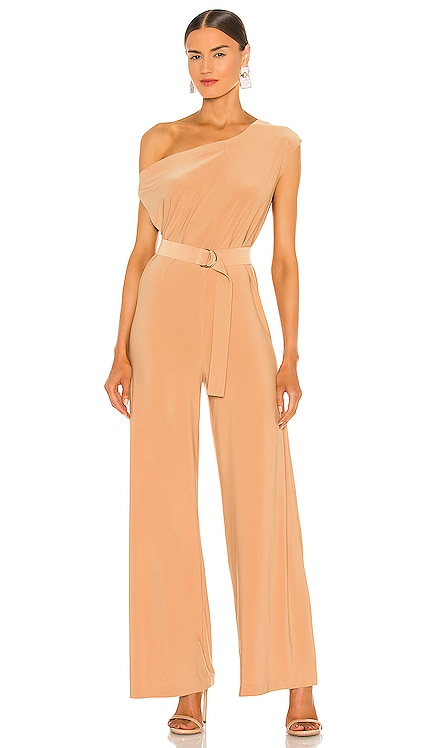 X REVOLVE Drop Shoulder Jumpsuit Norma Kamali $165 NEW