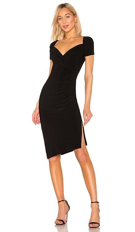 x REVOLVE Sweetheart Side Drape Dress Norma Kamali $155 BEST SELLER