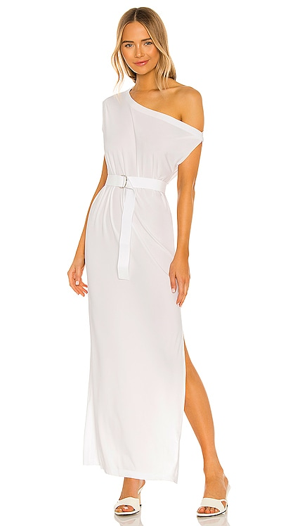 X REVOLVE Drop Shoulder Dress Norma Kamali $175 NEW