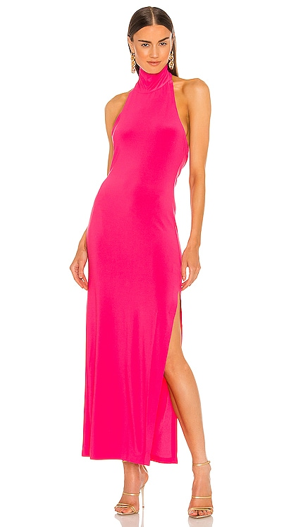 Halter Turtle Gown Norma Kamali $145 NEW