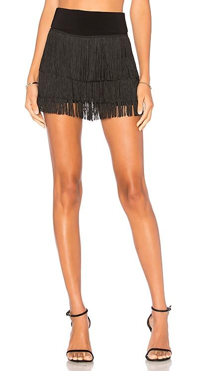 Fringe All Over Shorts Norma Kamali $228