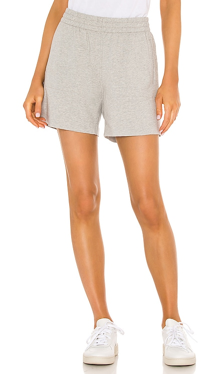 Side Stripe Boyfriend Sweatshort Norma Kamali $150