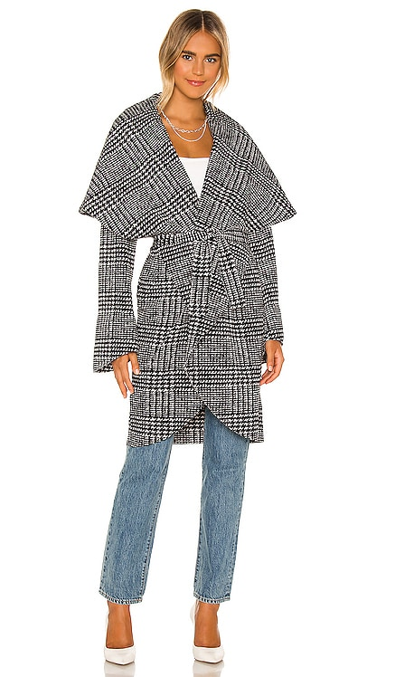Shawl Collar Coat Norma Kamali $575 NEW