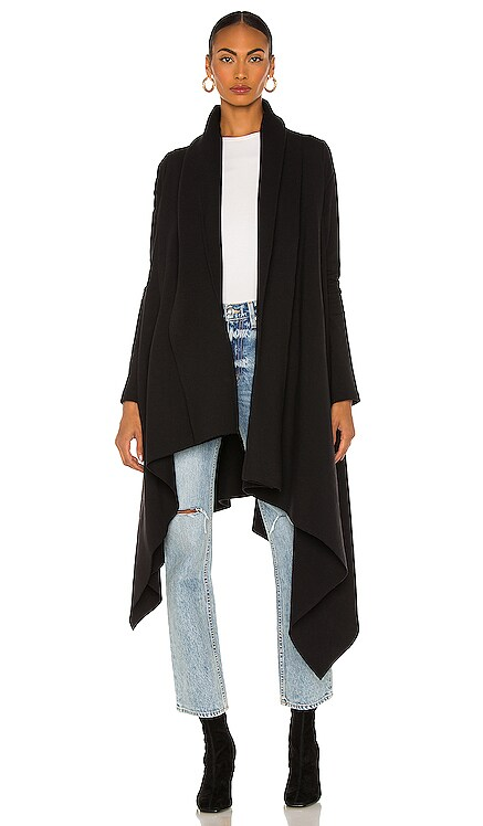 Uneven Blanket Coat Norma Kamali $215 BEST SELLER