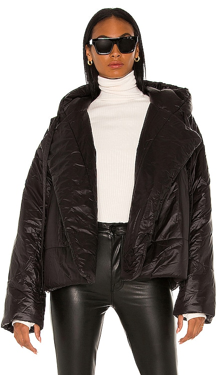 Hooded Sleeping Bag Coat Norma Kamali $550 NEW