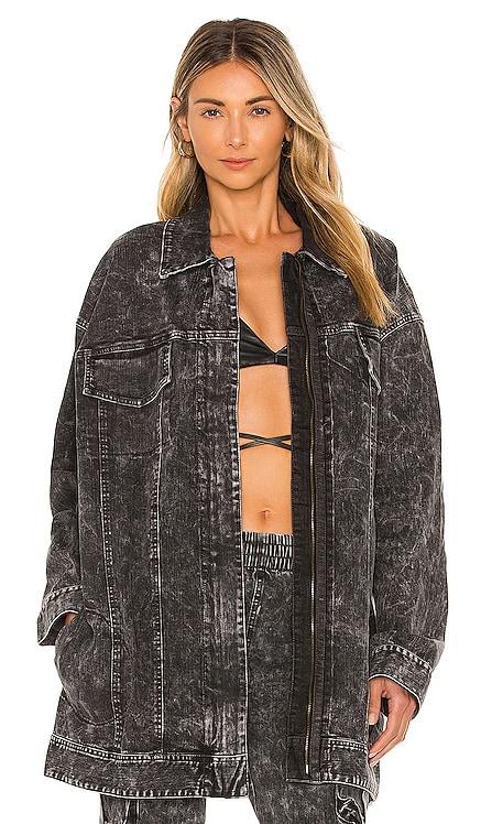 Oversized Jeans Jacket Norma Kamali $325 NEW