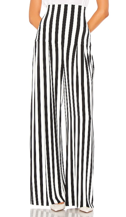 High Waist Pleat Pant Norma Kamali $155