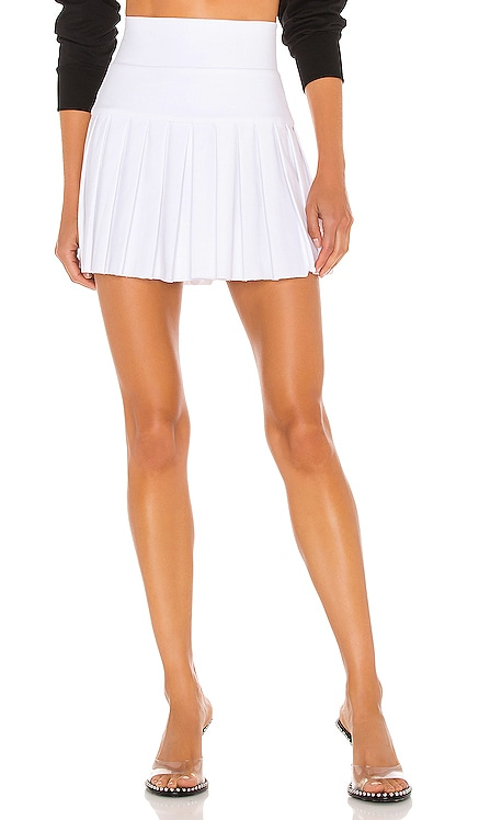 Pleated Mini Skirt Norma Kamali $130 NEW