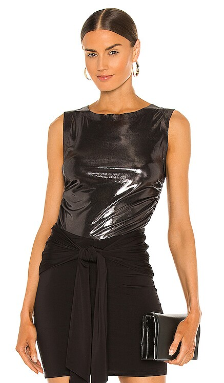 Sleeveless Shirred Top Norma Kamali $88