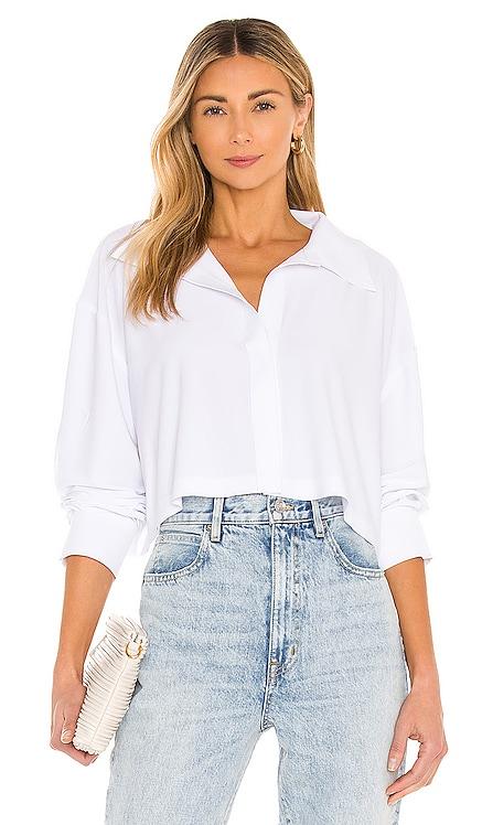 Oversized Boyfriend Cropped NK Shirt Norma Kamali $145
