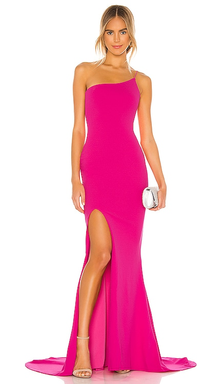 x REVOLVE Jasmine One Shoulder Gown Nookie $289 BEST SELLER