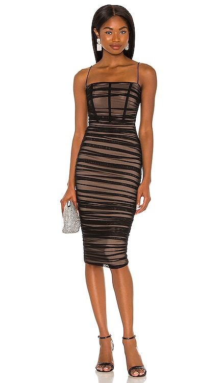 Mecca Midi Dress Nookie $349 NEW
