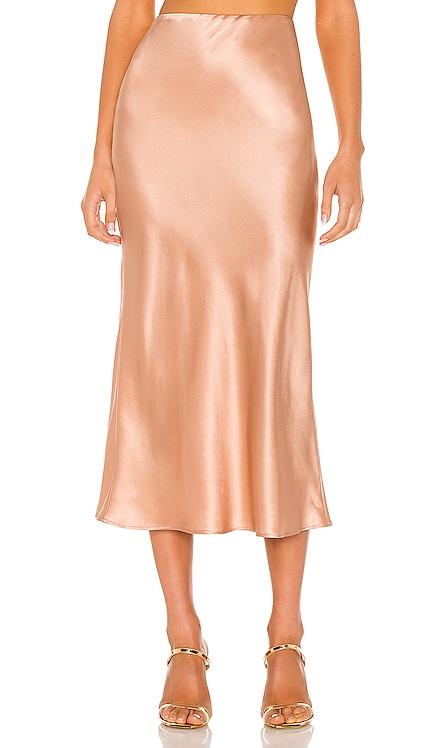 Virgo Midi Skirt Natalie Rolt $338 NEW