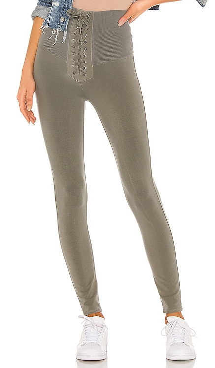 Aziza Lace Up Legging NSF $195 NEW ARRIVAL