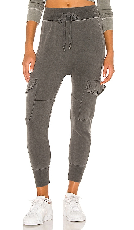 Ellie Cargo Pocket Sweatpant NSF $198 NEW