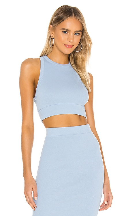X REVOLVE Alicia Sleeveless Crop Top NSF $110