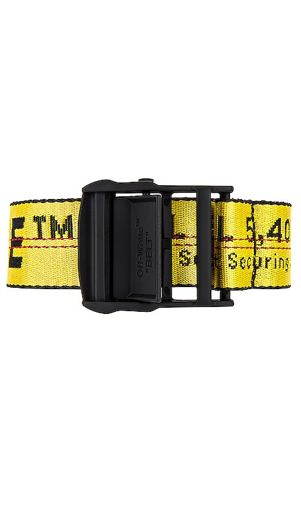 Classic Industrial Belt OFF-WHITE $210 NEW