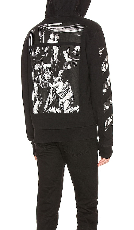 Caravaggio Zip Hoodie OFF-WHITE $660 NEW ARRIVAL
