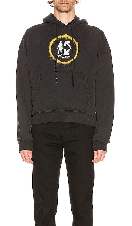 SUDADERA SPRAY CIRCLE OFF-WHITE $348