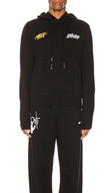 SWEAT À CAPUCHE THUNDER OFF-WHITE $555