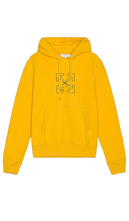 OW Logo Workers Slim Hoodie OFF-WHITE $565