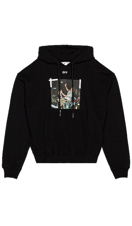 Pascal Print Over Hoodie OFF-WHITE $580