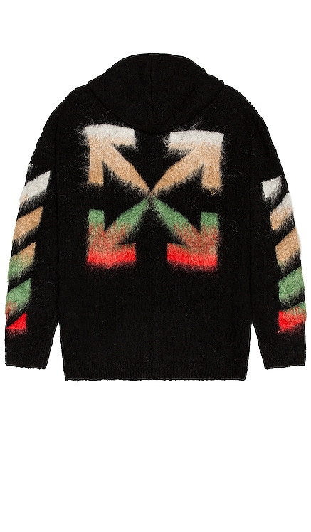 Brushed Knit Hoodie OFF-WHITE $1,310