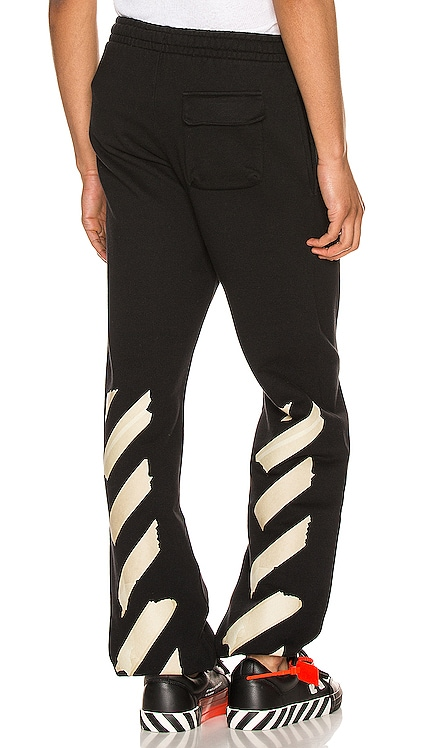 Tape Arrows Slim Sweatpant OFF-WHITE $520 NEW ARRIVAL