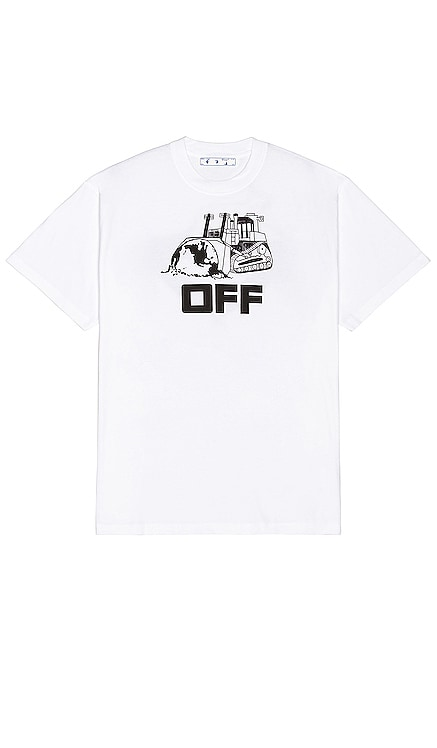World Caterpillar Tee OFF-WHITE $295